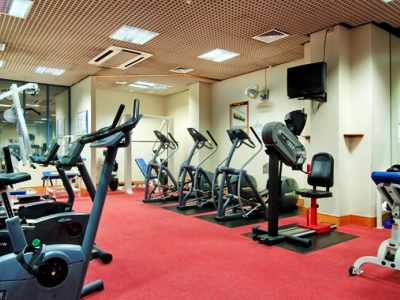 gym - hotel doubletree by hilton coventry - coventry, united kingdom