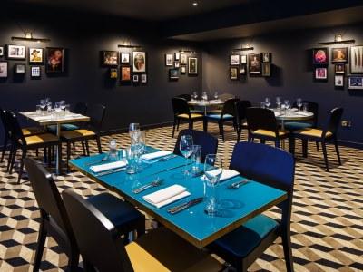 restaurant - hotel mercure edinburgh princes street - edinburgh, united kingdom