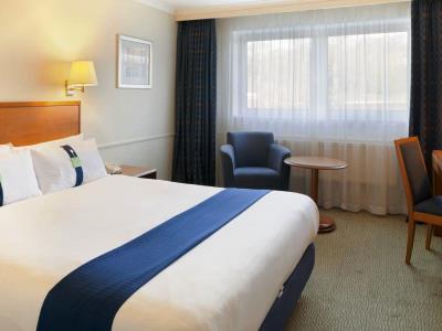bedroom 2 - hotel holiday inn edinburgh - edinburgh, united kingdom