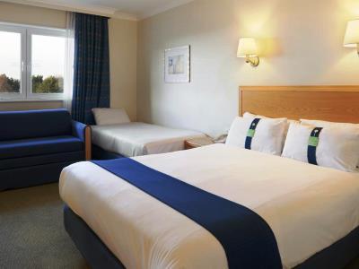 bedroom 3 - hotel holiday inn edinburgh - edinburgh, united kingdom