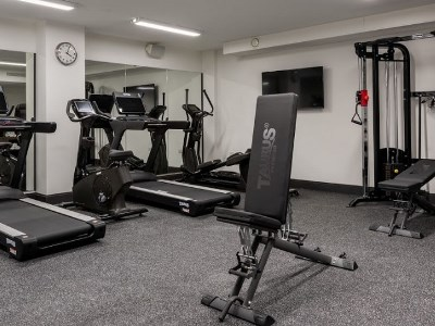 gym - hotel voco edinburgh - haymarket - edinburgh, united kingdom