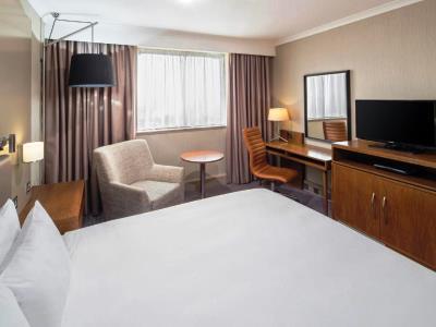 bedroom - hotel crowne plaza glasgow - glasgow, united kingdom
