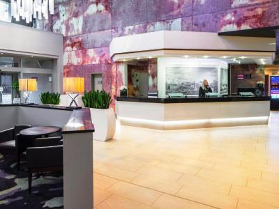 lobby - hotel crowne plaza glasgow - glasgow, united kingdom