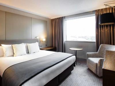 bedroom 2 - hotel crowne plaza glasgow - glasgow, united kingdom