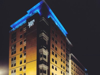 exterior view - hotel jurys inn glasgow - glasgow, united kingdom