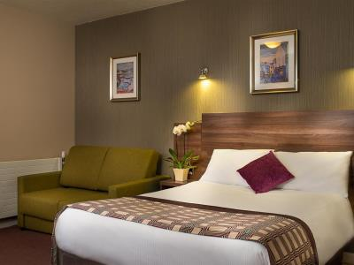 bedroom - hotel jurys inn glasgow - glasgow, united kingdom