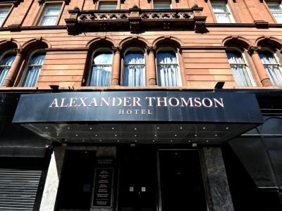 exterior view 1 - hotel alexander thomson - glasgow, united kingdom