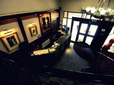 lobby - hotel alexander thomson - glasgow, united kingdom