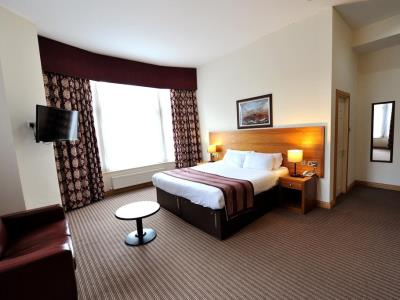 bedroom - hotel alexander thomson - glasgow, united kingdom