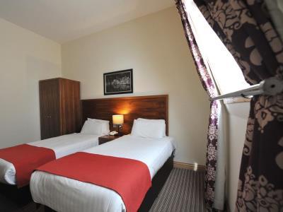 bedroom 1 - hotel alexander thomson - glasgow, united kingdom