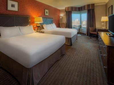 bedroom - hotel hilton glasgow - glasgow, united kingdom