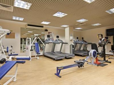 gym - hotel hilton glasgow - glasgow, united kingdom