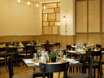 restaurant - hotel hilton glasgow - glasgow, united kingdom