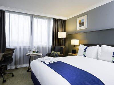 bedroom - hotel holiday inn glasgow airport - glasgow, united kingdom