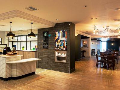 breakfast room - hotel holiday inn glasgow airport - glasgow, united kingdom
