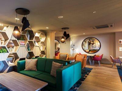 lobby - hotel holiday inn glasgow airport - glasgow, united kingdom