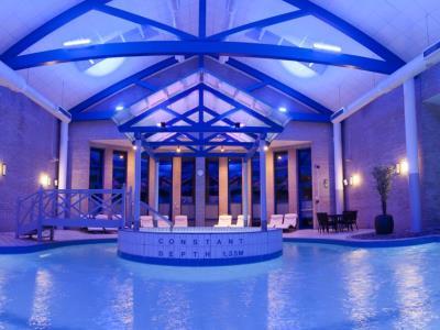 indoor pool - hotel gloucester robinswood, bw signature - gloucester, united kingdom