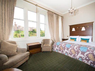 bedroom 2 - hotel columba - inverness, united kingdom