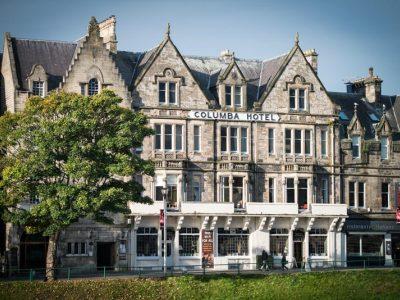 exterior view - hotel columba - inverness, united kingdom