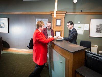 lobby - hotel columba - inverness, united kingdom