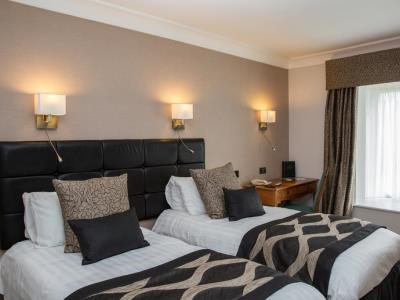 bedroom 2 - hotel lancaster house - lancaster, united kingdom