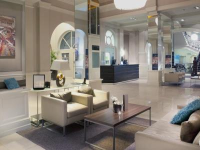 lobby - hotel met - leeds, united kingdom