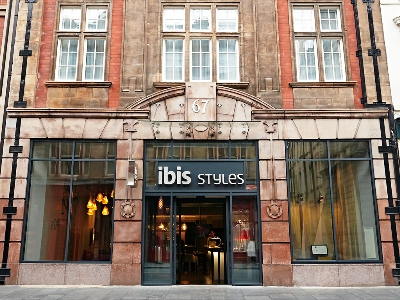 exterior view - hotel ibis styles centre dale street - liverpool, united kingdom