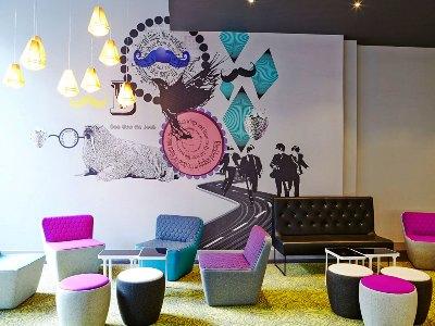 lobby - hotel ibis styles centre dale street - liverpool, united kingdom