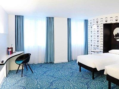 bedroom - hotel ibis styles centre dale street - liverpool, united kingdom