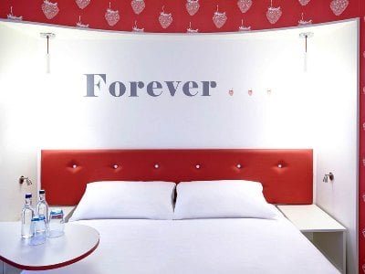 bedroom 1 - hotel ibis styles centre dale street - liverpool, united kingdom
