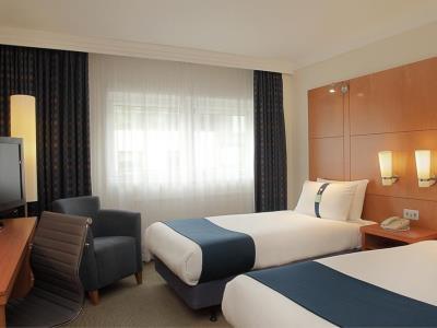 bedroom 2 - hotel holiday inn london - regent's park - london, united kingdom