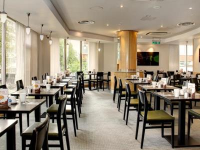 restaurant - hotel holiday inn london - regent's park - london, united kingdom