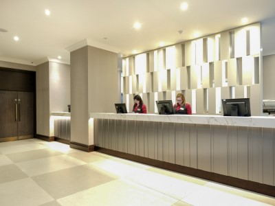 lobby - hotel president - london, united kingdom