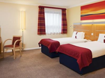 bedroom 2 - hotel holiday inn express london golders green - london, united kingdom