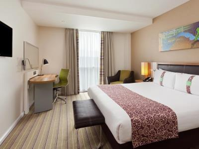 bedroom - hotel holiday inn london - stratford city - london, united kingdom