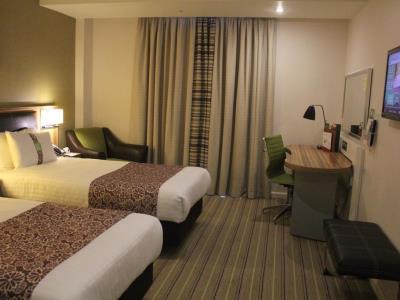 bedroom 1 - hotel holiday inn london - stratford city - london, united kingdom