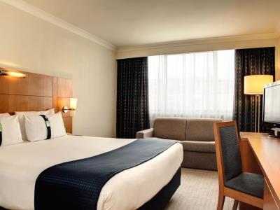 bedroom - hotel holiday inn bloomsbury - london, united kingdom