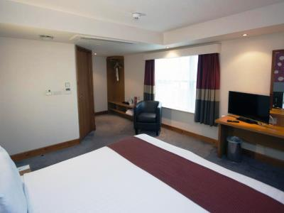 bedroom 1 - hotel holiday inn central park - manchester, united kingdom