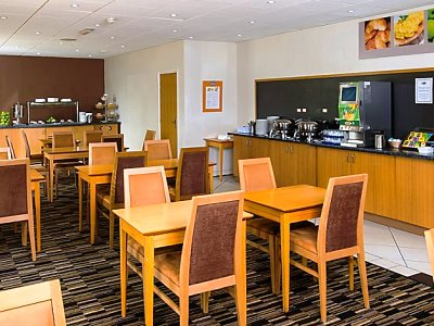 breakfast room - hotel holiday inn express manchester east - manchester, united kingdom