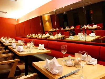 restaurant - hotel crowne plaza manchester airport - manchester, united kingdom