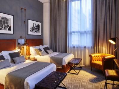 bedroom 3 - hotel kimpton clocktower - manchester, united kingdom