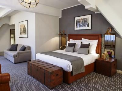 bedroom 4 - hotel kimpton clocktower - manchester, united kingdom