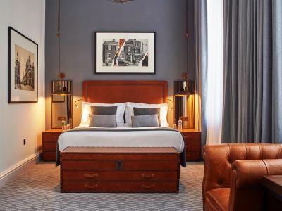 bedroom 5 - hotel kimpton clocktower - manchester, united kingdom
