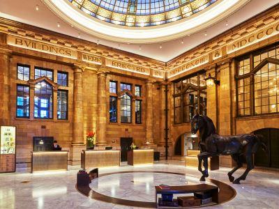 lobby - hotel kimpton clocktower - manchester, united kingdom