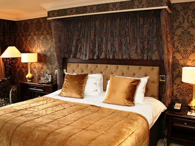 bedroom 2 - hotel billesley manor - stratford-upon-avon, united kingdom