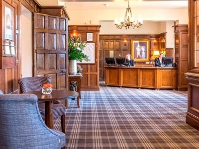 lobby - hotel billesley manor - stratford-upon-avon, united kingdom