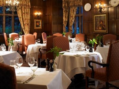 restaurant - hotel billesley manor - stratford-upon-avon, united kingdom