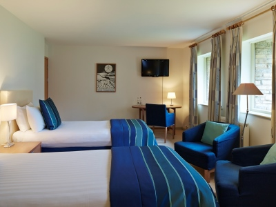 bedroom - hotel billesley manor - stratford-upon-avon, united kingdom