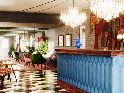 lobby - hotel indigo stratford upon avon - stratford-upon-avon, united kingdom