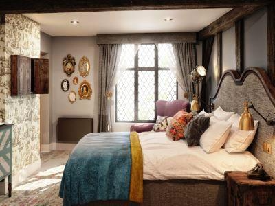 bedroom - hotel indigo stratford upon avon - stratford-upon-avon, united kingdom